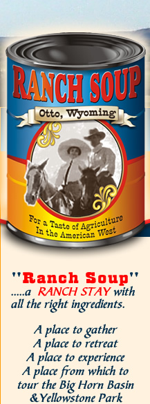 Ranch Soup - .....a  RANCH STAY with all the right ingredients.